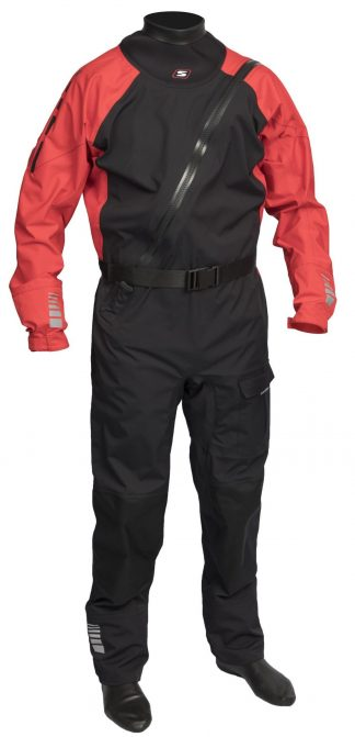 Sandiline Drysuit P3 Red Black