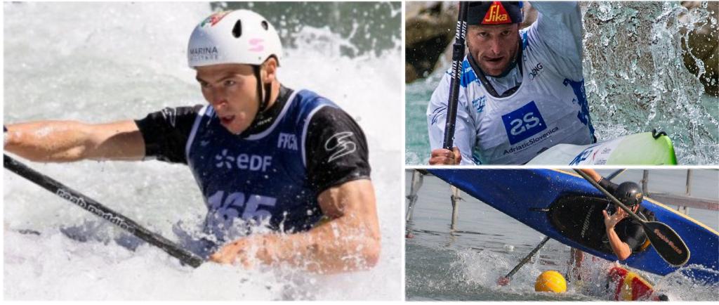 Kayak Slalom, Discesa e Polo